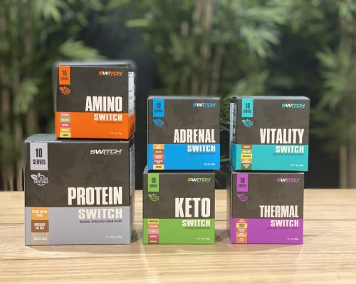 Switch Nutrition Packaging Range