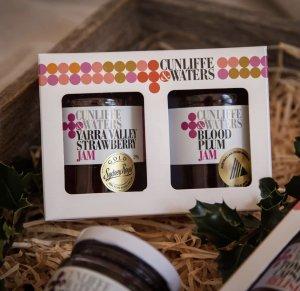 Cunliffe & Waters Jam Packaging